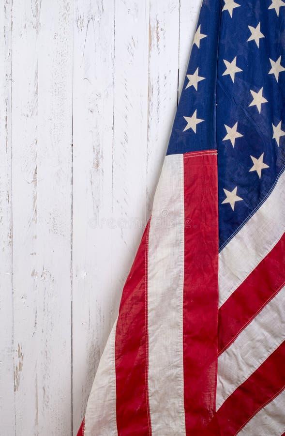 Bandera de los Estados Unidos de América imagen de archivo