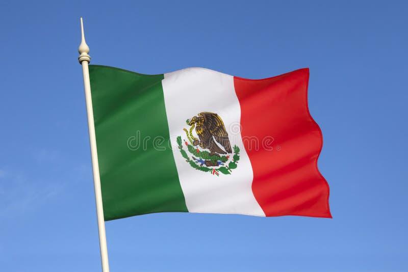 Bandera de México imagen de archivo libre de regalías