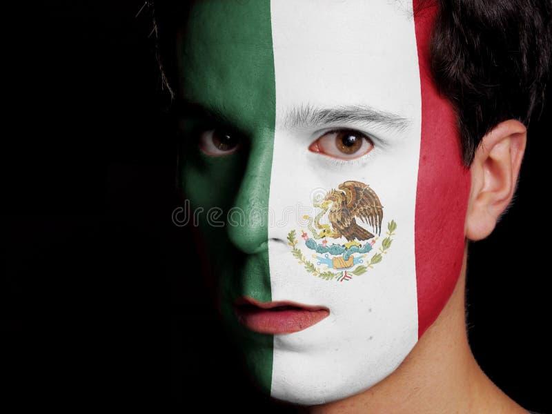 Bandera de México imágenes de archivo libres de regalías