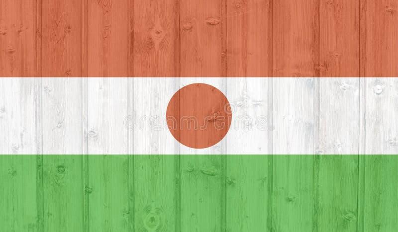 Bandera de Niger del Grunge libre illustration