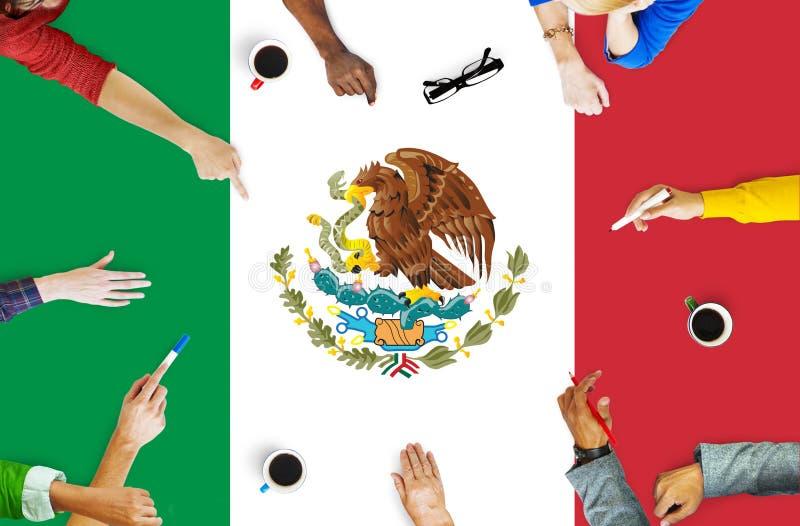 Bandera de país de México Liberty National Concept libre illustration
