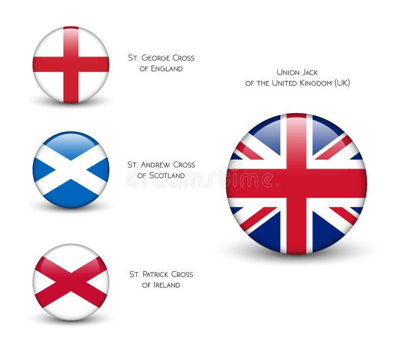 Bandera De Reino Unido - Inglaterra, Escocia, Irlanda Union Jack ...