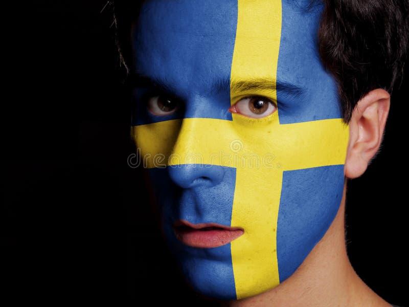 Bandera de Suecia imágenes de archivo libres de regalías