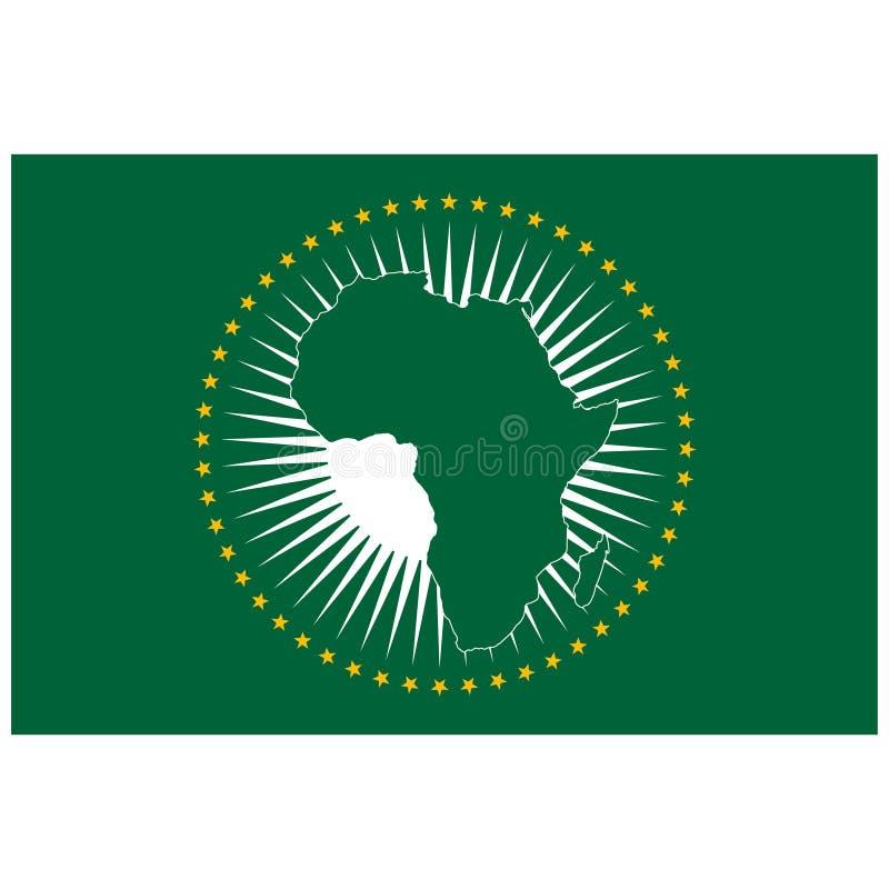 Bandera de unión africana libre illustration