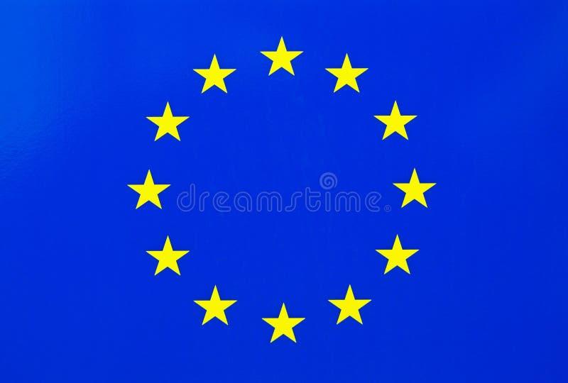 Bandera de unión europea imágenes de archivo libres de regalías