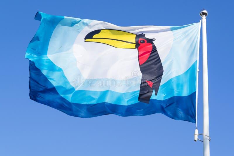 Bandera de Van der Valk foto de archivo