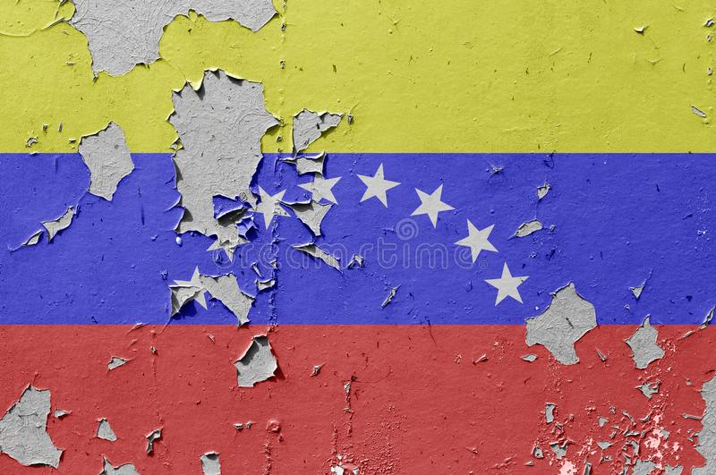 Bandera de Venezuela fotografía de archivo
