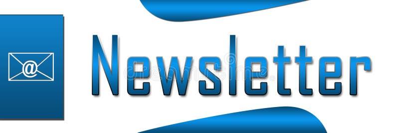 Bandera Del Azul Del Hoja Informativa Imagen de archivo libre de regalías