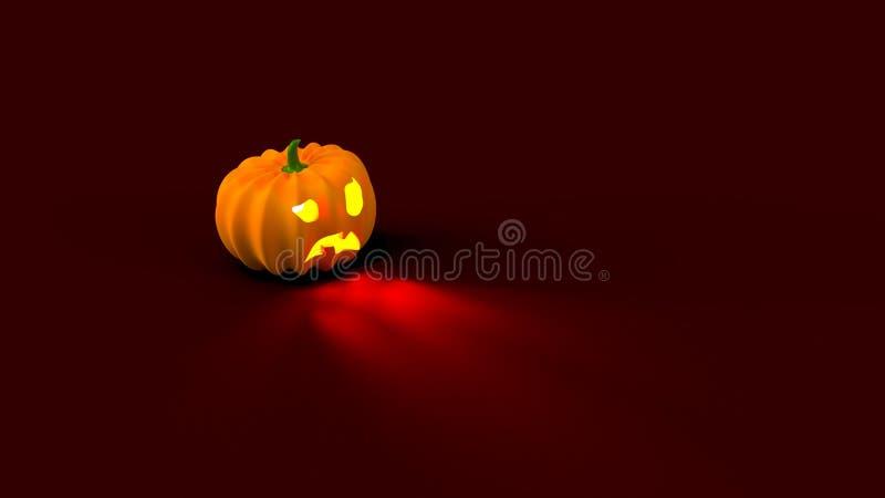 Bandera del cartel del feliz Halloween fotos de archivo