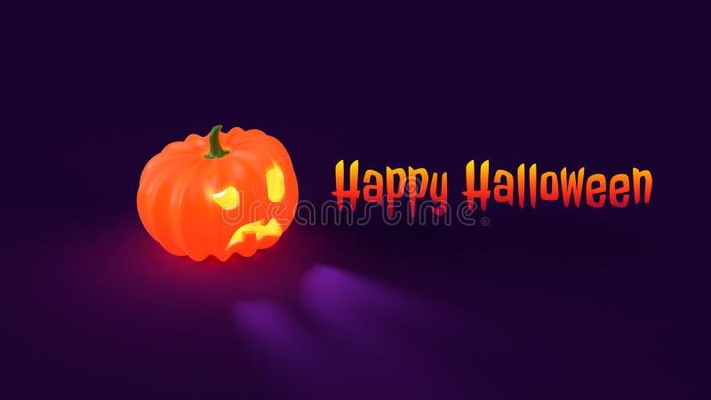 Bandera del cartel del feliz Halloween JPEG foto de archivo libre de regalías