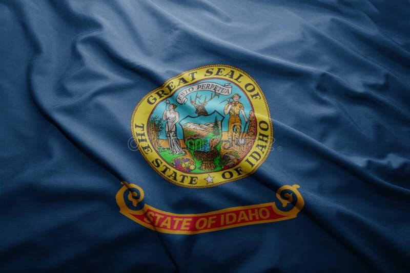 Bandera del estado de Idaho fotografía de archivo