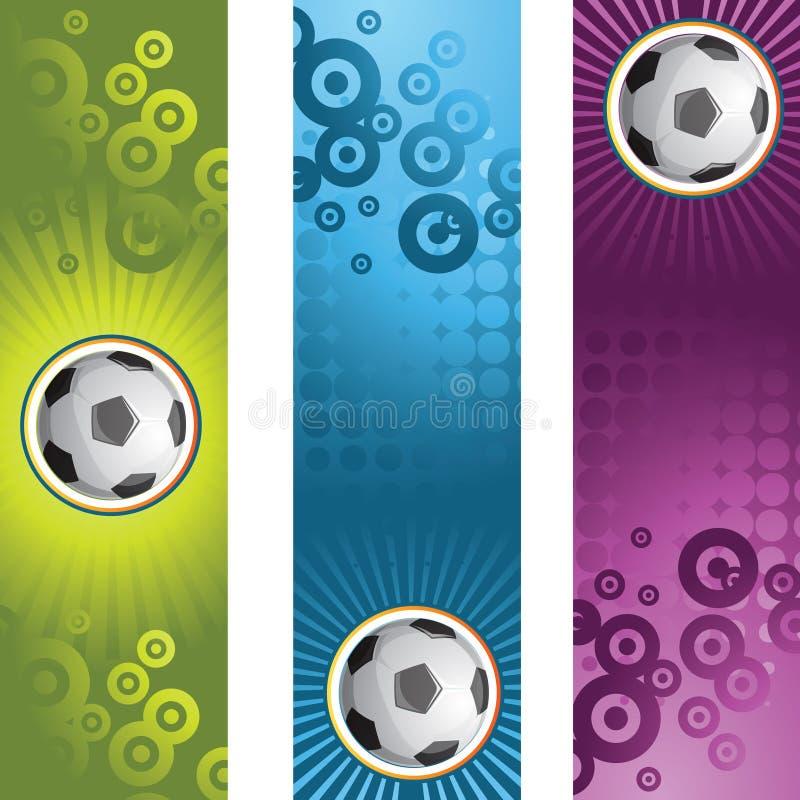Bandera del fútbol libre illustration