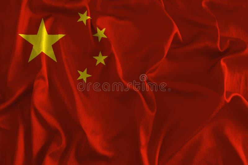 Bandera del fondo de China libre illustration