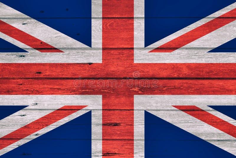 Bandera del grunge BRITÁNICO imagen de archivo