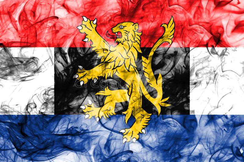 Bandera del humo de Benelux, unión politico-económica de Bélgica, Países Bajos, Luxemburgo libre illustration
