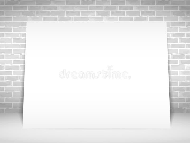 Bandera del Libro Blanco libre illustration