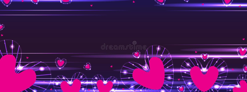 Bandera del rayo del amor libre illustration