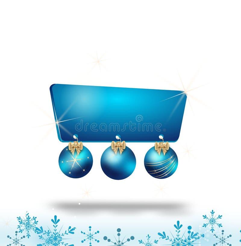 Bandera del web de la Navidad libre illustration