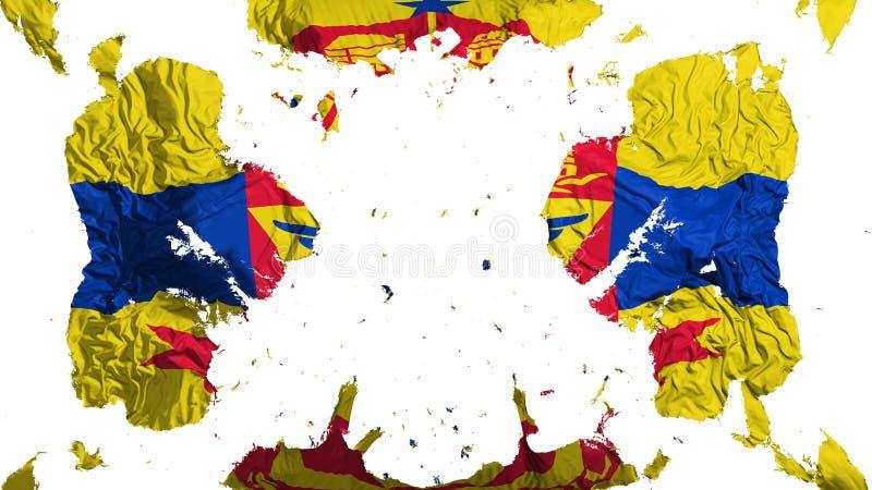 Bandera dispersada del capital de Saint Paul stock de ilustración