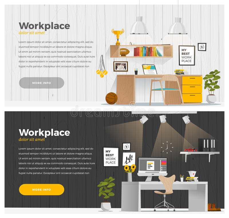 Bandera dos para el diseño web libre illustration