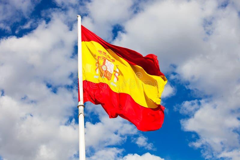 Bandera española fotografía de archivo libre de regalías