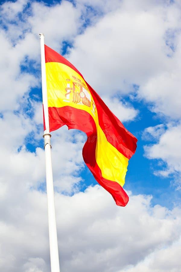 Bandera española fotos de archivo libres de regalías