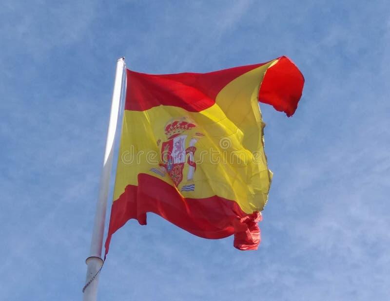 Bandera española de España imagenes de archivo