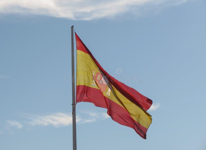 Bandera española de España fotos de archivo libres de regalías
