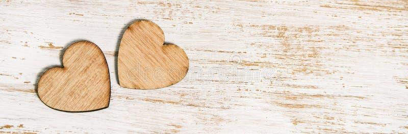 Bandera feliz del día del ` s de la tarjeta del día de San Valentín imagenes de archivo