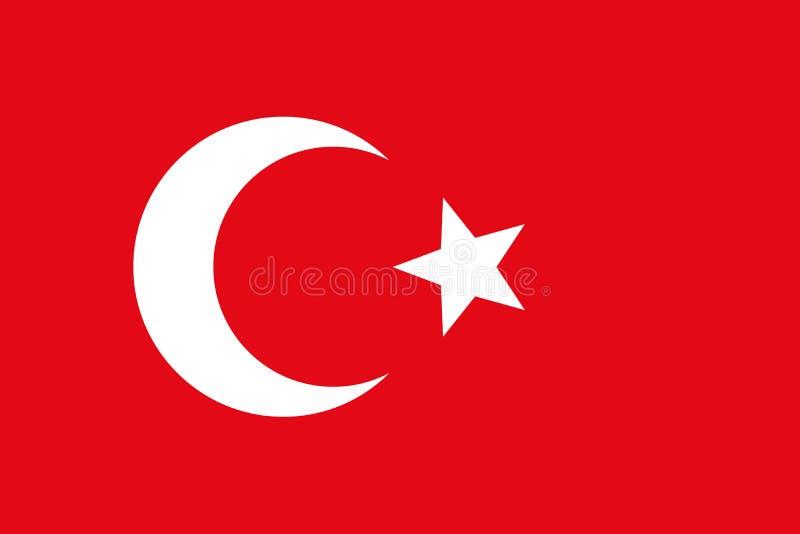 Bandera histórica del vector ilustración del vector