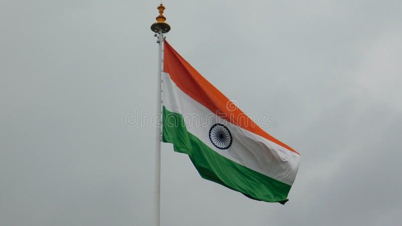 Bandera india Tricolor, símbolo de la India imágenes de archivo libres de regalías