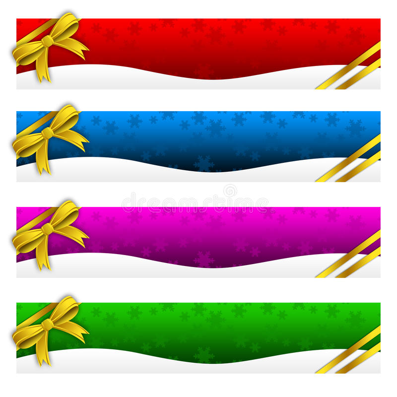 Bandera, invierno, días de fiesta, la Navidad libre illustration