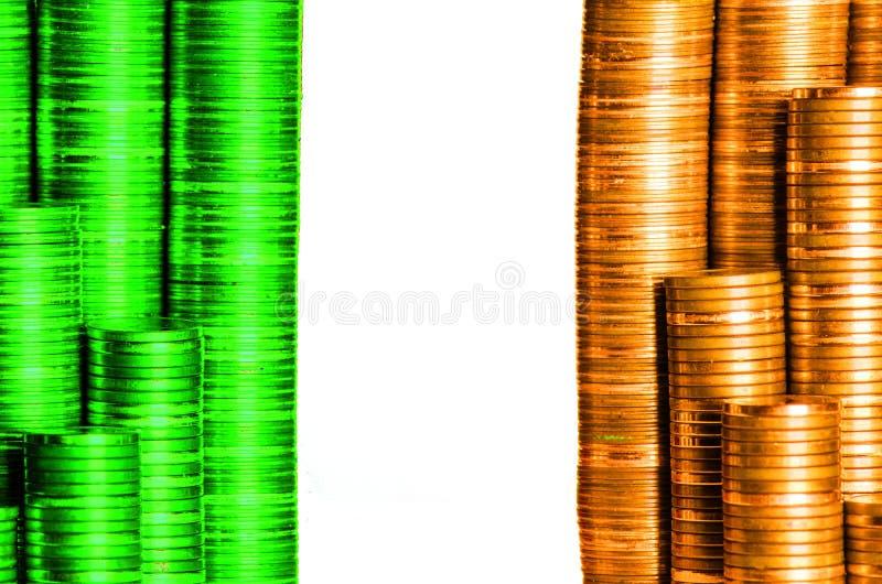 Bandera Irlanda imagen de archivo libre de regalías