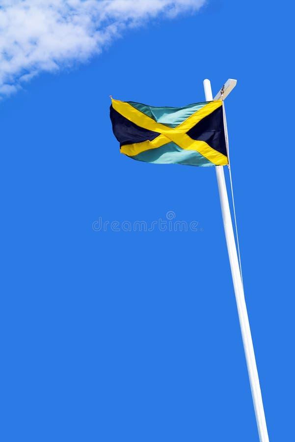 Bandera jamaicana fotos de archivo