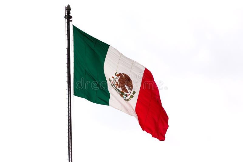 Bandera mexicana fotografía de archivo libre de regalías