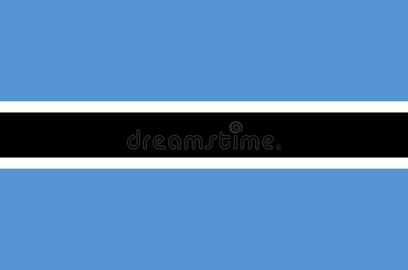 Bandera nacional de Botswana