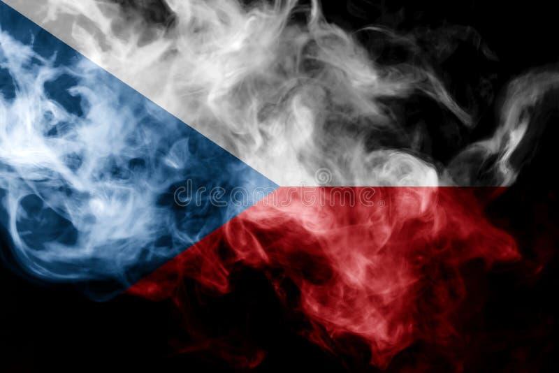 Bandera nacional de Checo libre illustration