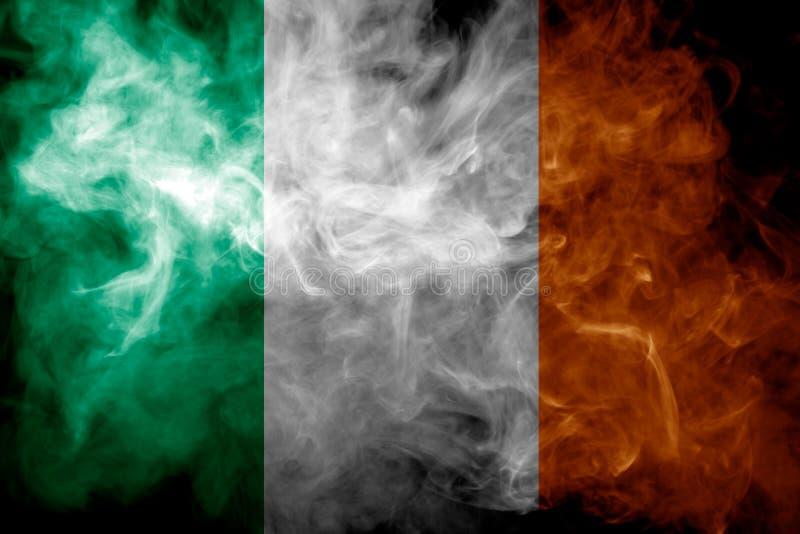 Bandera nacional de Irlanda foto de archivo libre de regalías