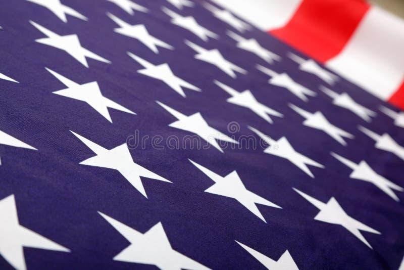 Bandera nacional de los E.E.U.U. foto de archivo libre de regalías