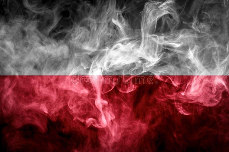 Bandera nacional de Polonia fotos de archivo