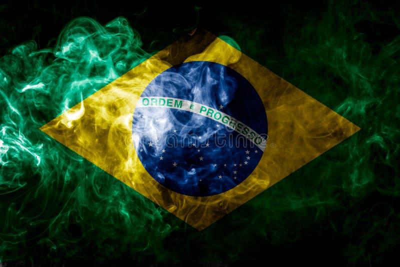 Bandera nacional del Brasil stock de ilustración
