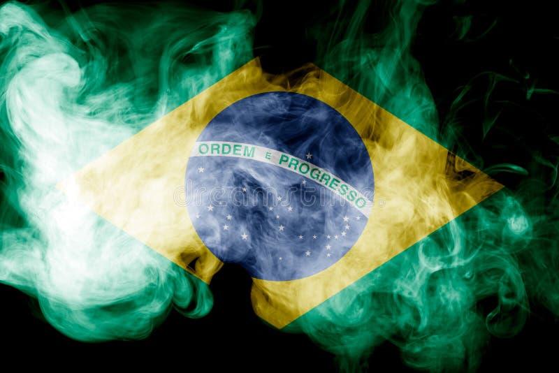 Bandera nacional del Brasil imagen de archivo
