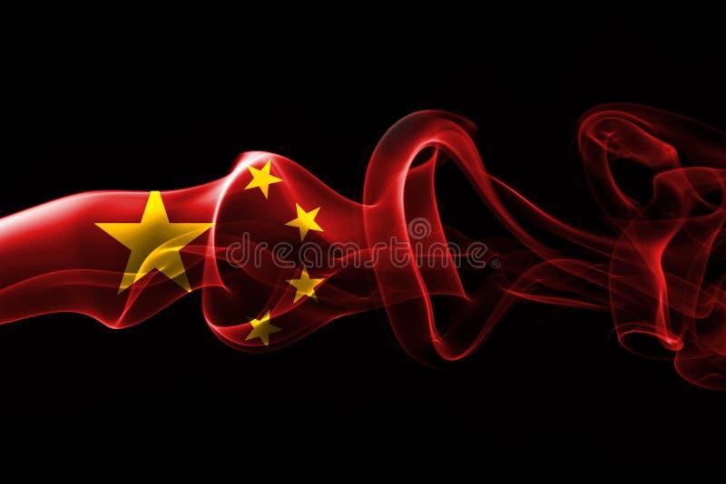 Bandera nacional del humo de China libre illustration