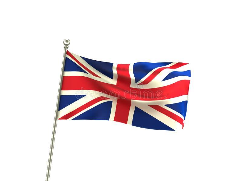 Bandera ondulada de Reino Unido libre illustration