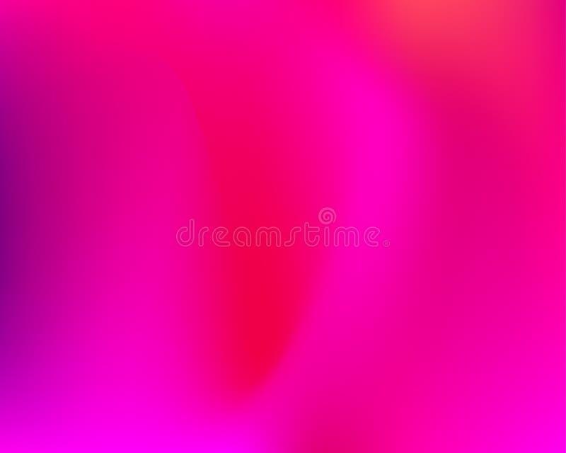 Bandera púrpura de la pendiente ilustración del vector