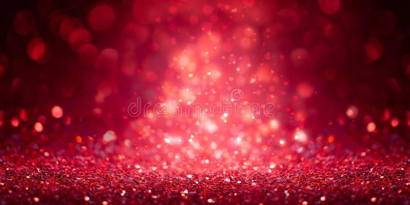 Bandera roja del brillo foto de archivo libre de regalías