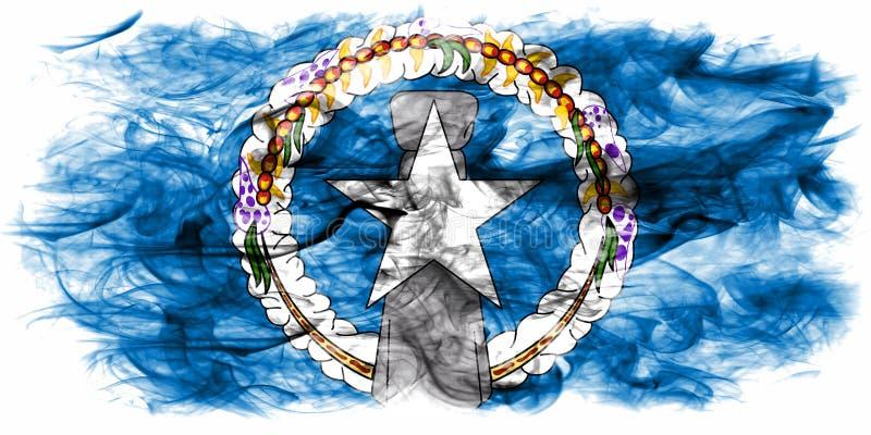 Bandera septentrional del humo de Mariana Islands, la Commonwealth del unido ilustración del vector