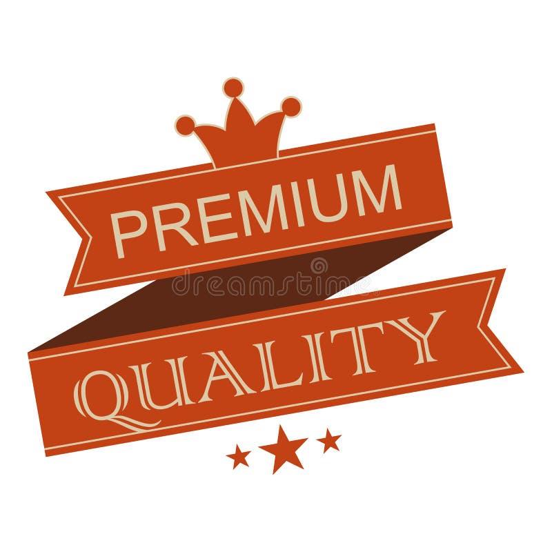 Bandera superior de la cinta del vintage de la calidad stock de ilustración