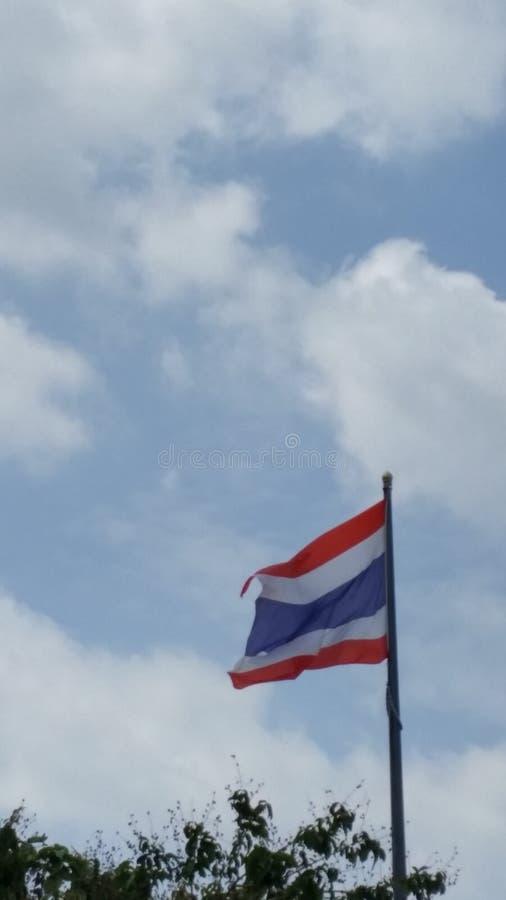 Bandera tailandesa fotografía de archivo