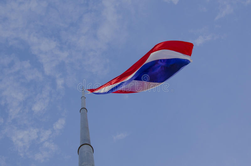 Bandera tailandesa nacional fotos de archivo